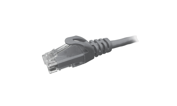 1 MTR Cat6 U/UTP Patch Cord - Grey