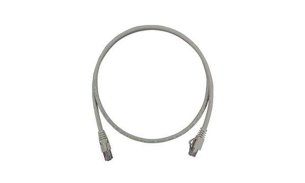 1m Cat.6A 4 Pair F/UTP Patch Cord LSZH
