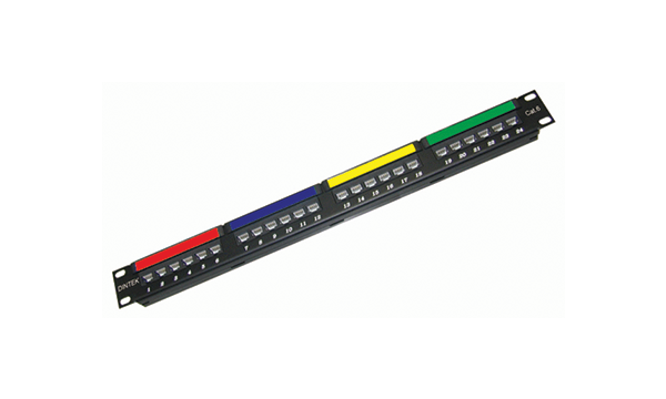 "24 Port Cat6 19""Patch Panel"