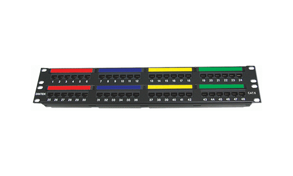 "48 Port Cat6 19""Patch Panel"