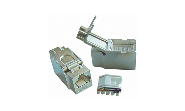 Cat6 Shielded Toolless Jack
