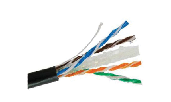 EXT Cat6 4 Pair UTP Gel Filled Cable