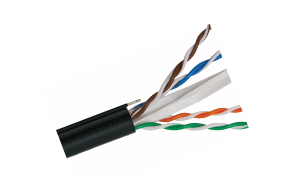 EXT Cat6 UTP 23AWG Aerial Cable