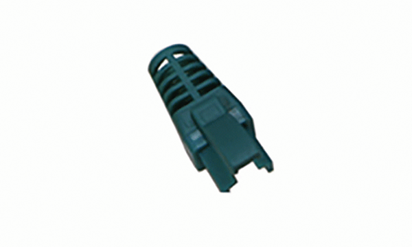 Green Strain Relief RJ-45 Boot (5.7Ø)