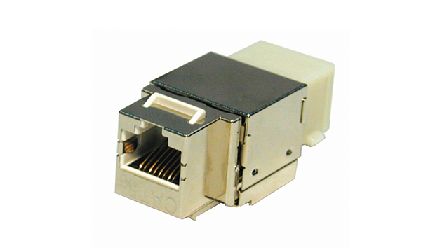 Horizontal Cat5e Shielded Keystone Jack