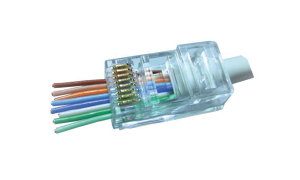 PowerMAX™ Cat 6 RJ45 Pass Through ezi-PLUG