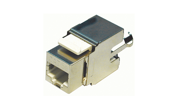 Vertical Cat5e Shielded Keystone Jack