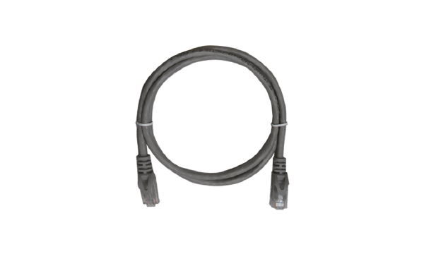 Cat.6 4 Pair Stranded Patch Cord - 0.5m PVC Gray